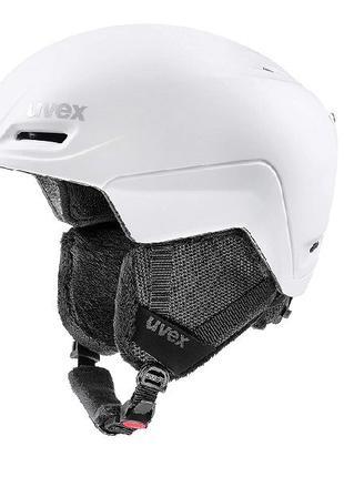 Шлем Шолом uvex Unisex's Adult, лыжный шлем, белый коврик, 52-...
