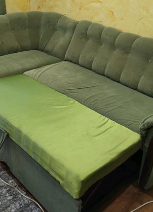 Диван угловой, раскладной диван