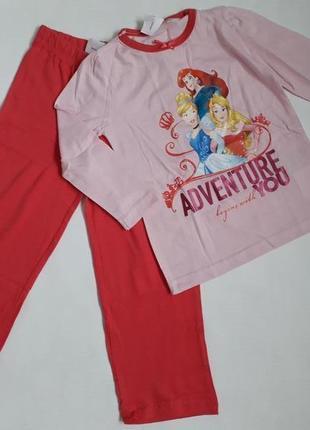 Пижама домашний костюм для девочки принцессы princess от disne...