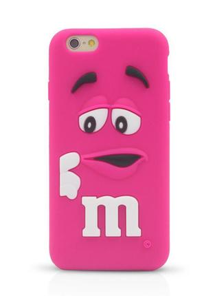Чехол m&m силиконовый для iphone 6s plus