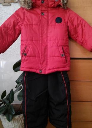 Зимний комплект ( куртка + полукомбинезон)