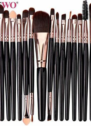 Кисти для макияжа (профессиональные) набор из 15 кистей