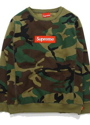 Свитшот supreme box logo como распродажа