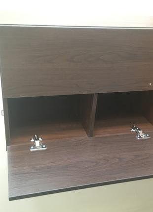Навесной кухонный шкаф венге