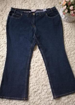 Супер качественные джинсы большого размера 62-64 (28 uk).