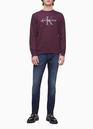 Свитшот Calvin Klein размер S на флисе оригинал