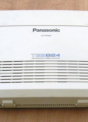 Мини АТС Panasonic kx-tes824 бу в рабочем состоянии