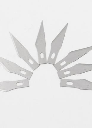 Запасные лезвия к скальпелю 8 шт/набор
