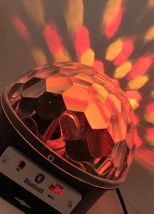 Диско-шар Bluetooth Magic Ball с MP3