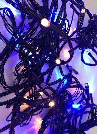 Новинка светодиодная гирлянда  100 LED (2мм),9 метров, мощные дио