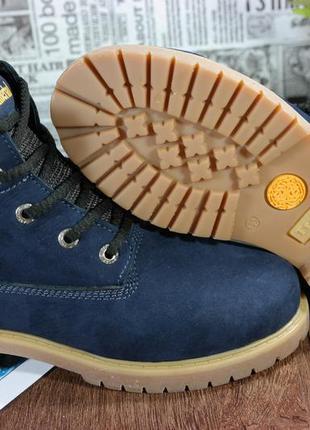 Шикарные зимние женские ботинки,натуральный нубук.  timber... ...