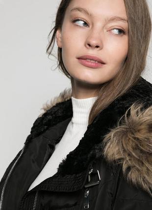 Пуховик куртка пальто zara bershka xs s