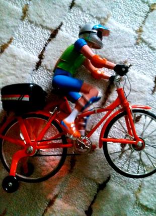 игрушка детск.велогонщик