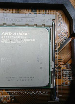 Материнская плата Asus M2N-MX SE Plus, Проц. AMD Athlon X2 7750