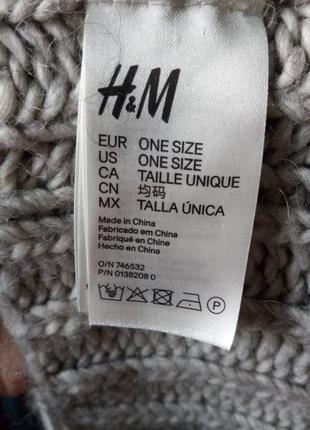 H&m вязаный шарф -  снуд хомут