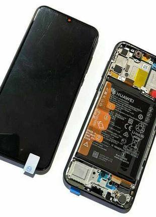 Оригинальный дисплей для Huawei P Smart S AQM-LX1 Black 02353PNT