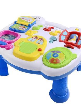 """Игровой центр """"Веселий стіл"""" развивающий столик, игрушка на кр..."""