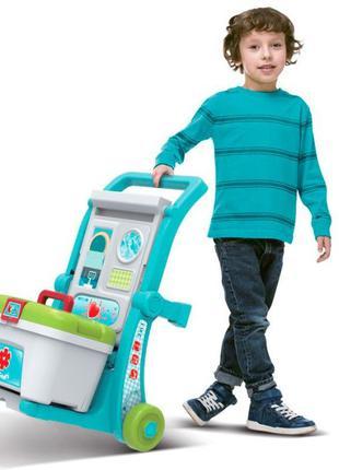 Детский игровой набор в чемодане. Больничка , Тележка доктора ...