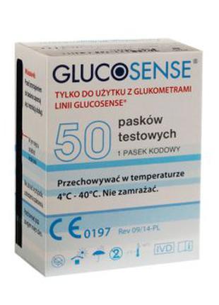 Тест Смужки Полоски Glucosense