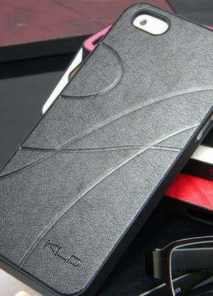 Пластиковый чехол KLD Черный для IPhone 5/5s