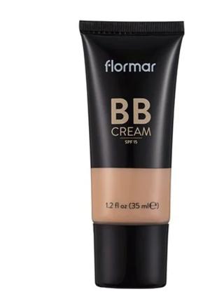 Вb крем с разглаживающим эффектом Flormar 03 выравнивает тон кожи