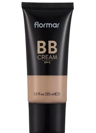 Вв крем с разглаживающим эффектом Flormar 01 выравнивает тон кожи