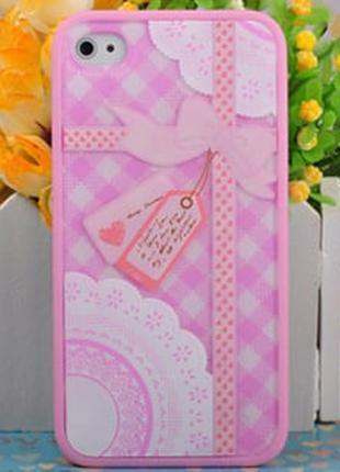 Чехол Ero case Gift Forever для IPhone 4/4s