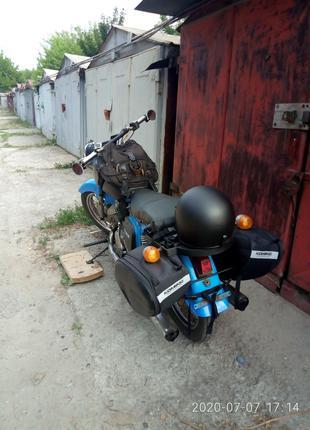 мотоцикл с коляской иж 3