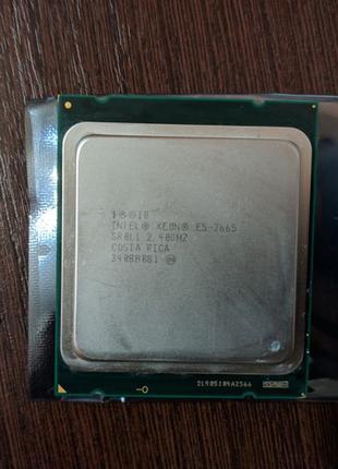 Процессор Intel Xeon E5-2665 8\16 2.40-3.1GHz Socket 2011 как2670