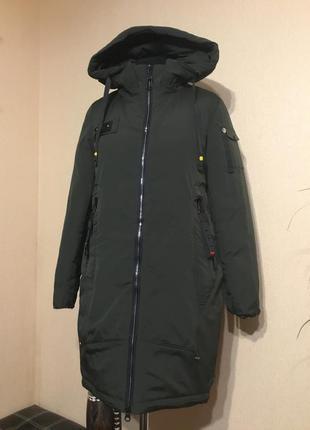 🔥отличная🔥 длинная зимняя куртка парка зима
