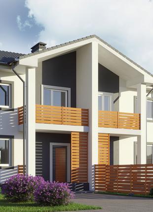 Продам новый дом дуплекс