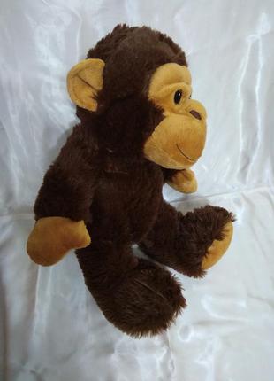 Большая мягкая игрушка обезьянка обезьяна