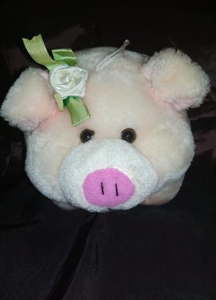 Мягкая игрушка поросенок свинка свинья