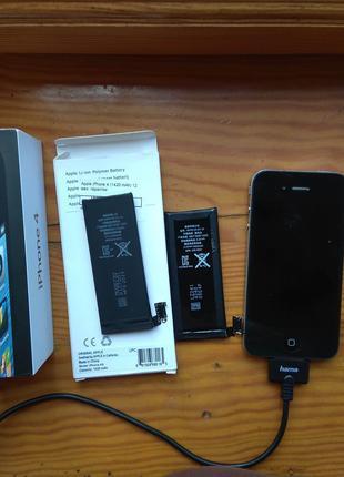 Запчасти iphone 4s, айфон 4. Зарядное комплектующие
