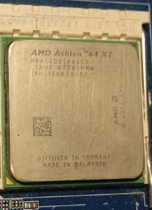 Материнская плата Asrock N68C-S UCC / Amd Athlon 64 X2 5200