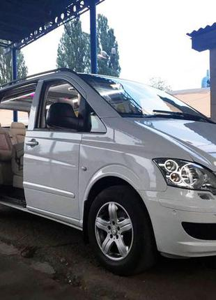 280 Микроавтобус Mercedes Viano белый арендовать