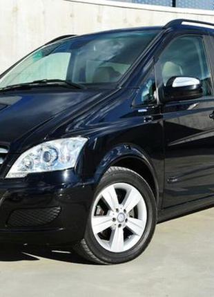 284 Микроавтобус Mercedes Viano черный