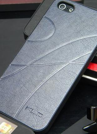 Пластиковый чехол KLD Темно-синий для IPhone 5/5s