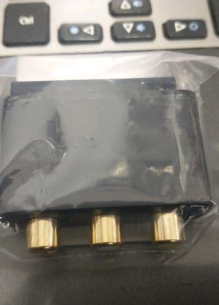 Оригинальный адаптер SCART - 3 RCA (Y Pb Pr) Xbox 360 Microsoft