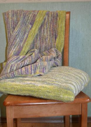 Детский плед и подушка. ручная работа