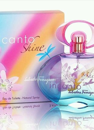 Парфюмированная вода  Salvatore Ferragamo Incanto Shine