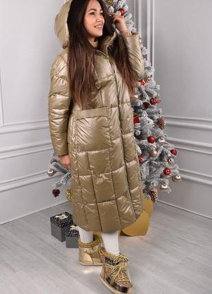 🌟стильное, теплое, легкое, женское дутое пальто по супер цене🌟