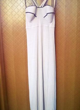 Платье на бретельках gallea france