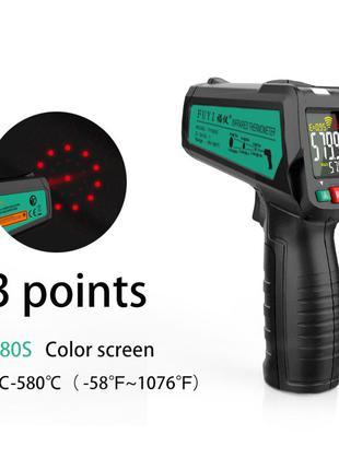 Цифровой Лазерный Инфракрасный Термометр Mastfuyi FY580S