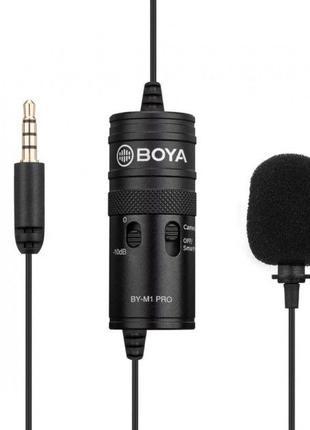 Микрофон Boya BY-M1 Pro — оригинал с гарантией и в наличии!