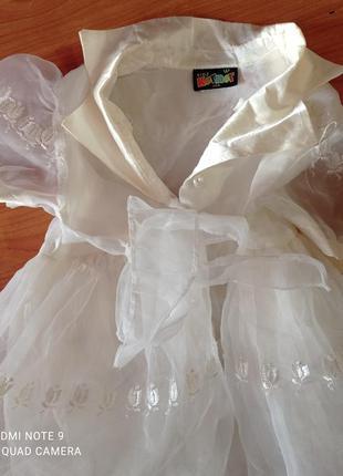 Платье детское выпускной 3.4гола
