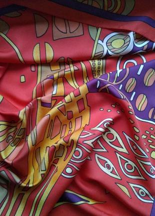 Яркий платок от slava zaitsev по мотивам картин климта