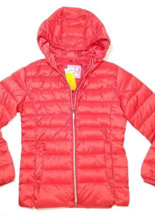 Куртка для девочки красная весна youngstyle 58640