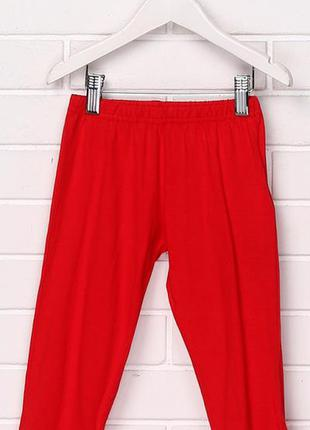Штаны для мальчика 098 см (2-3 years) красный  disney 59431