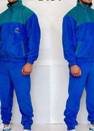 Спортивный тренировочный флисовый костюм ВС Франции. Новый